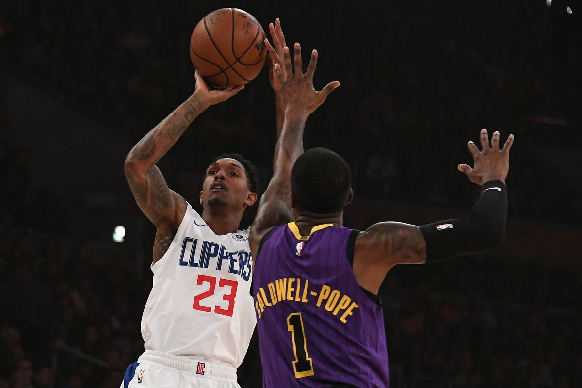 3f288f78f88 Clippers Beat Lakers 118-107 Behind Huge Performance from Lou Williams