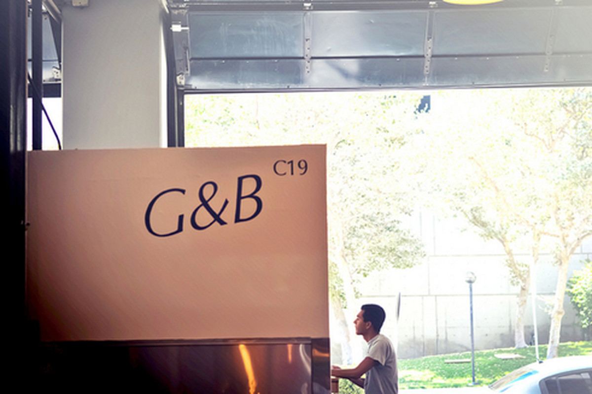 G&B Coffee at Grand Central Market, Downtown.