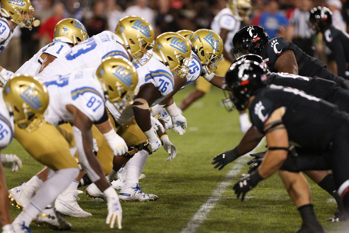 COLLEGE FOOTBALL: AUG 29 UCLA at Cincinnati
