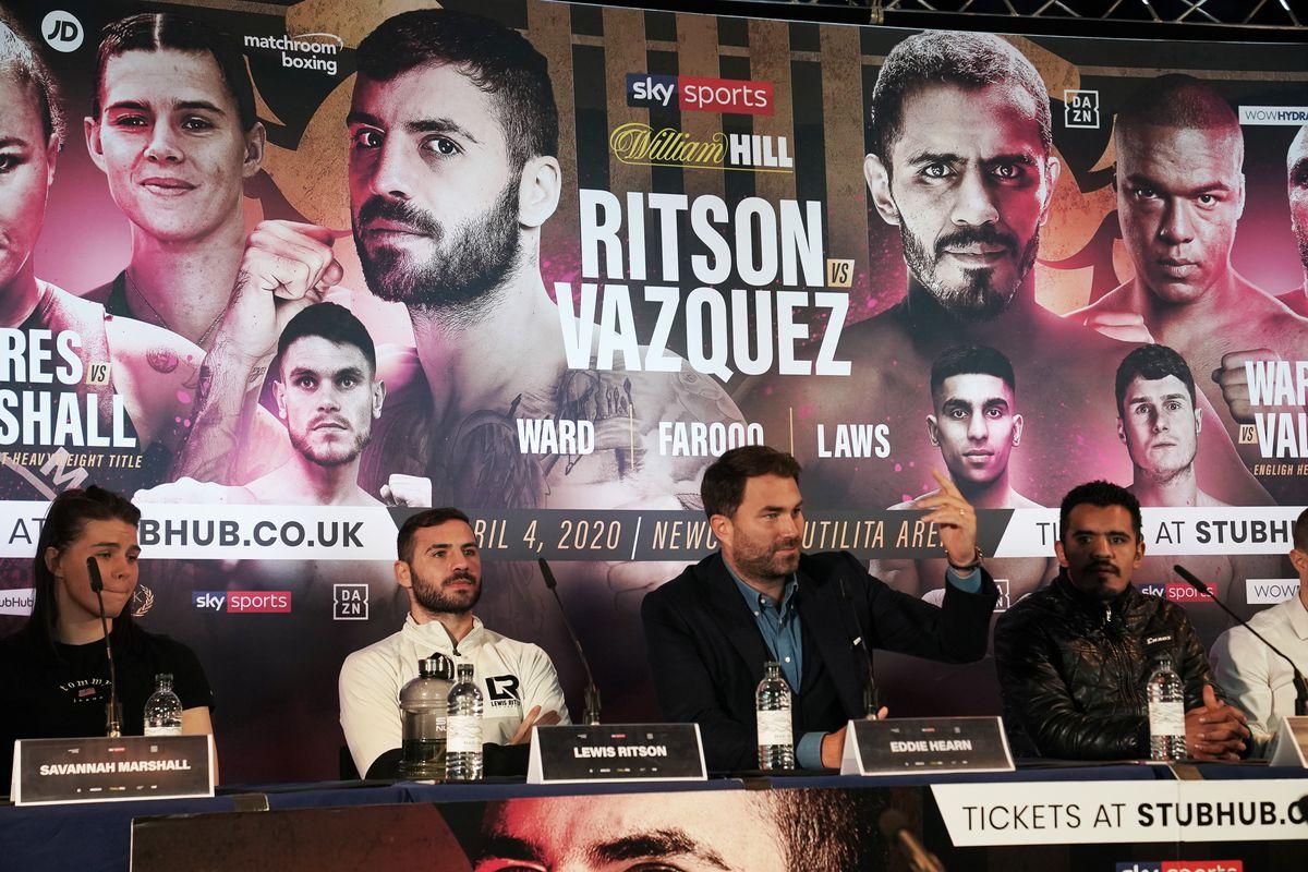 Lewis Ritson v Miguel Vazquez Press Conference - Sage Gateshead