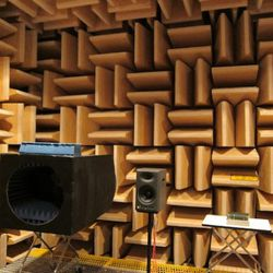 This room is totally sound-proof and echo-proof