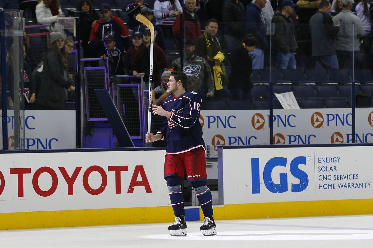 NHL: Nashville Predators at Columbus Blue Jackets