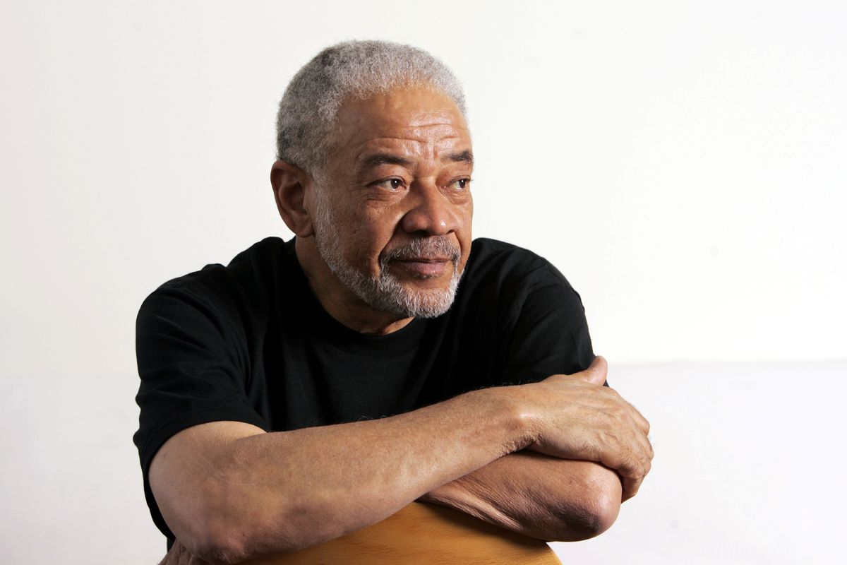 Singer-songwriter Bill Withers poses for photos in his office in Beverly Hills, California, in 2006.