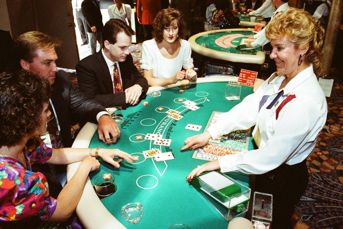The Empress River Casino in Joliet in 1992.
