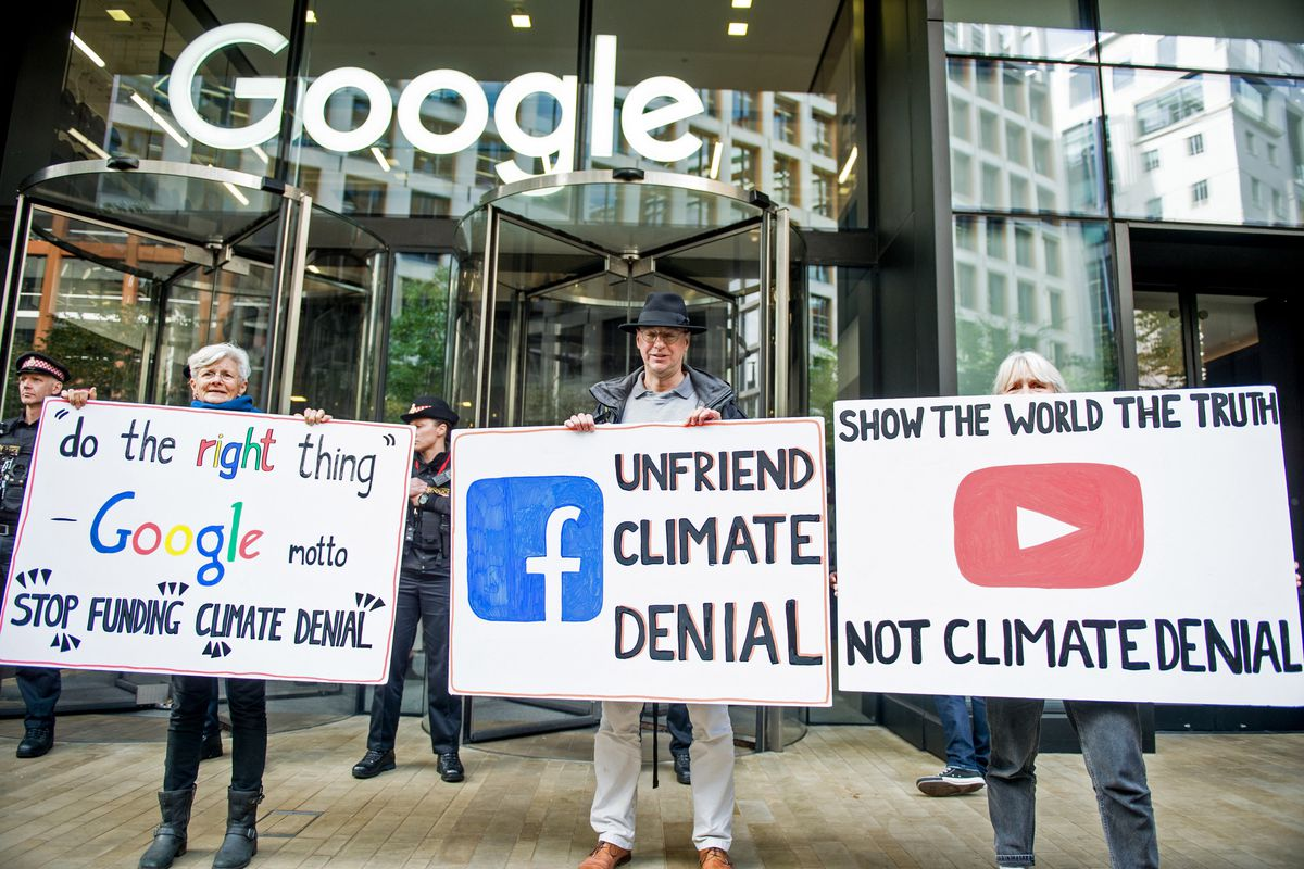 Climate Change Activists Continue Their Protest