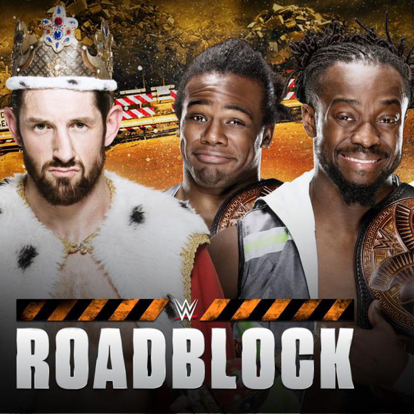 New Day Vs League Of Nations Tag Team Title Match Set For Wwe Roadblock Cageside Seats