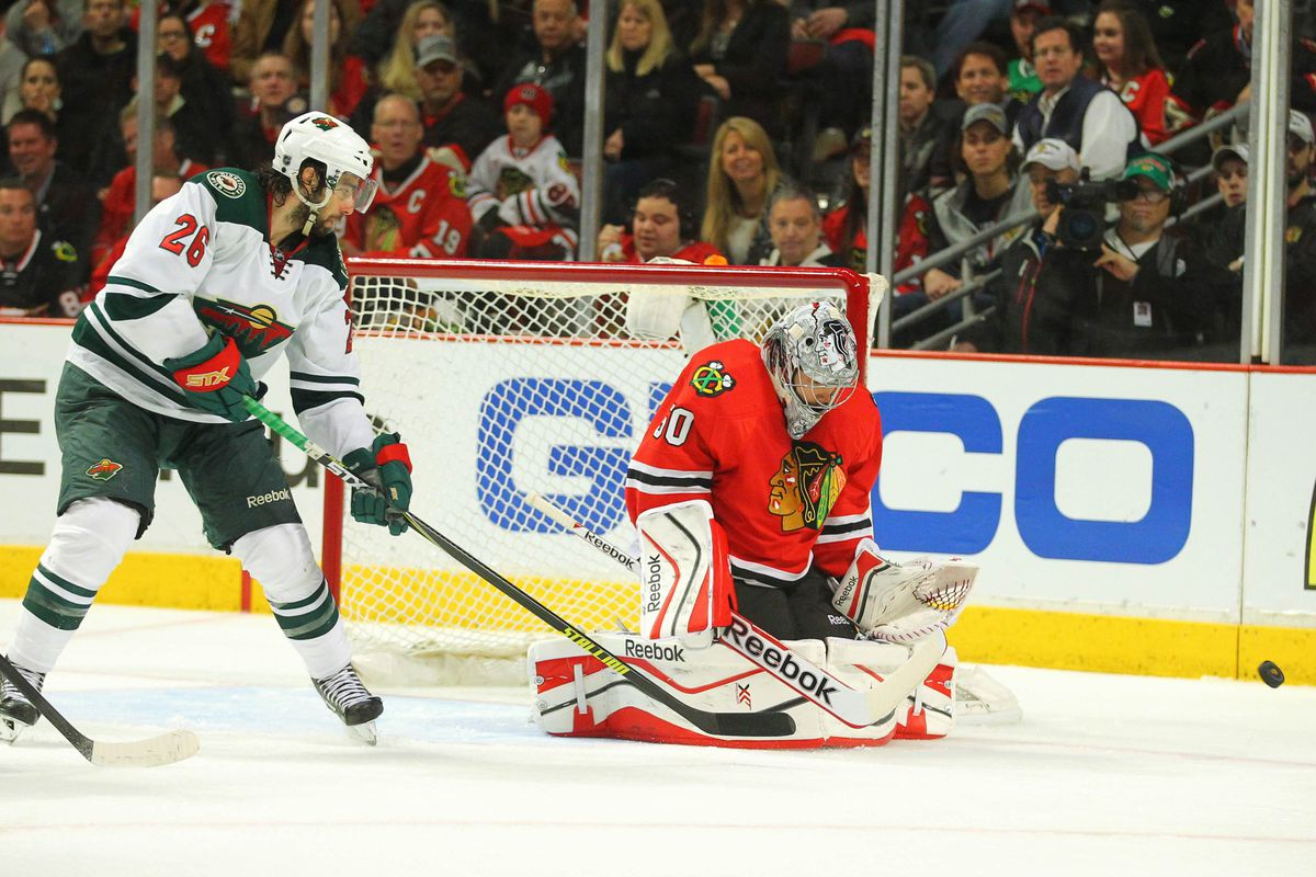 As tough of a post-season Matt Moulson has had, should the Wild have gone in a different direction?