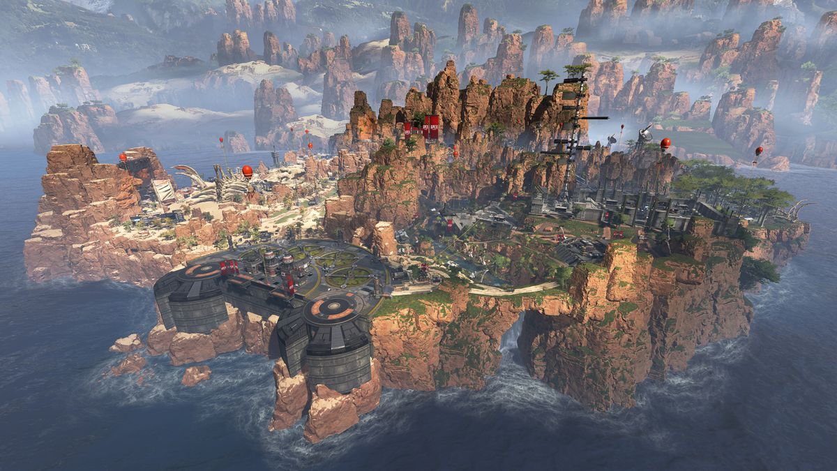 apex legends is a fortnite style shooter from the creators of titanfall the verge - ou est le lama fortnite