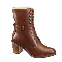 "<b>Samantha Pleet for Wolverine</b> Blixen boot in dark tan, <a href=""http://www.wolverine.com/US/en-US/Product.mvc.aspx/31547W/0/Womens/Womens-Blixen-Boot?dimensions=0"">$330</a>"