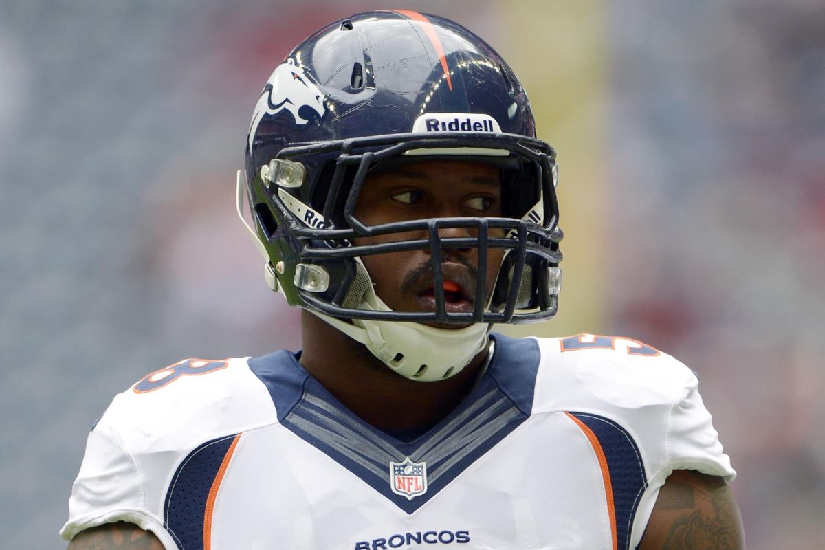 brand new 60c62 64785 Von Miller injury: Broncos LB out with knee issue - SBNation.com