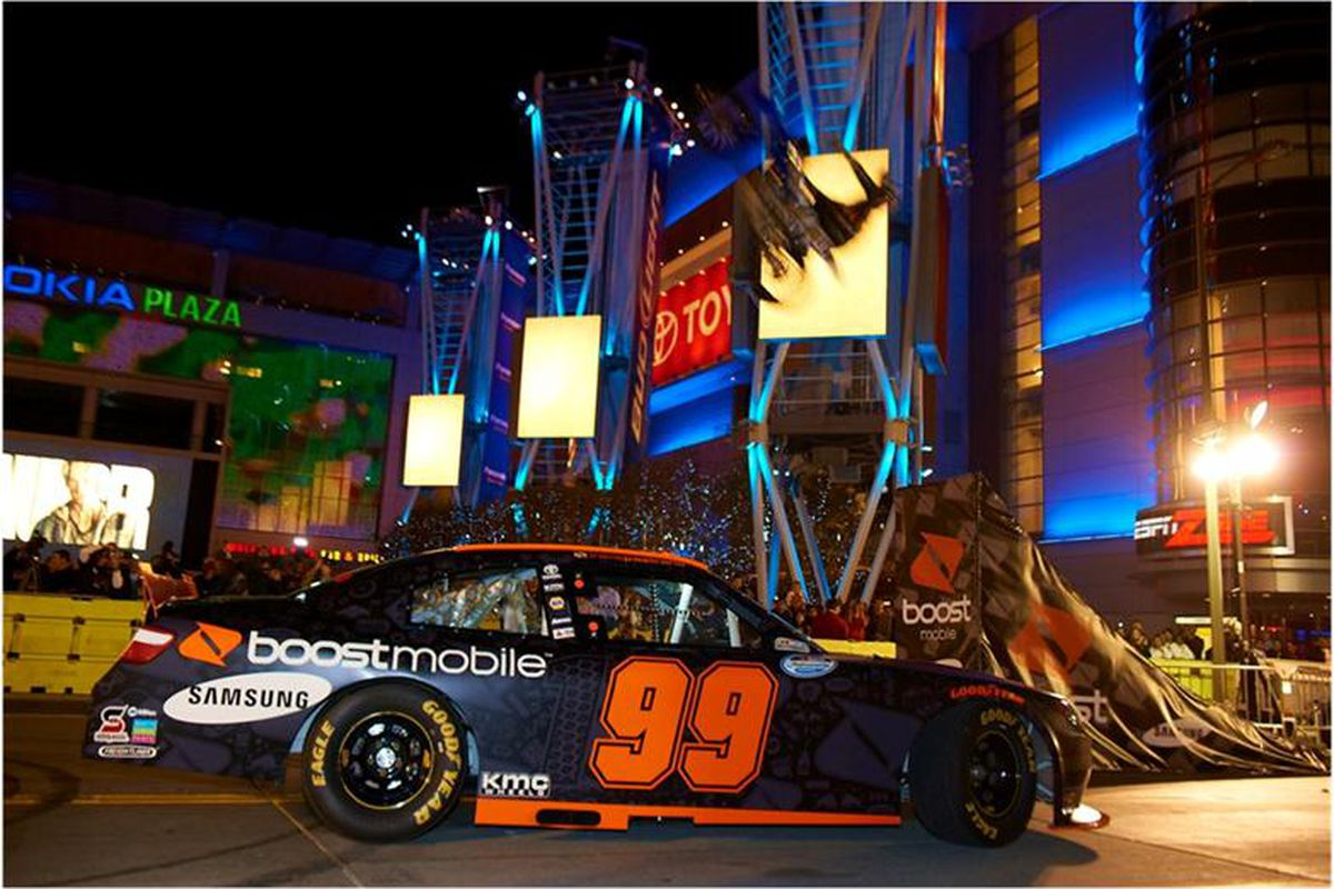 Travis Pastrana will drive the No. 99 Boost Mobile Toyota in seven NASCAR Nationwide Series this season.