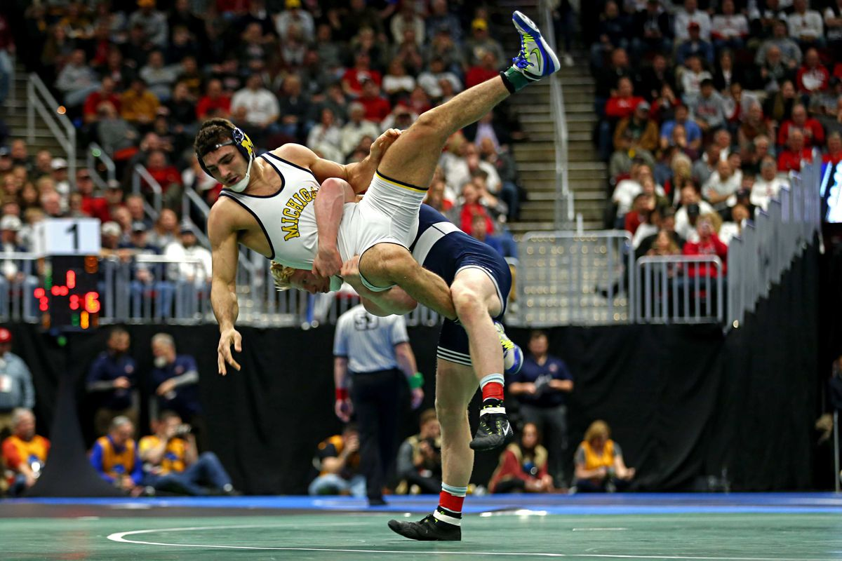 NCAA Wrestling: DI Wrestling Championships