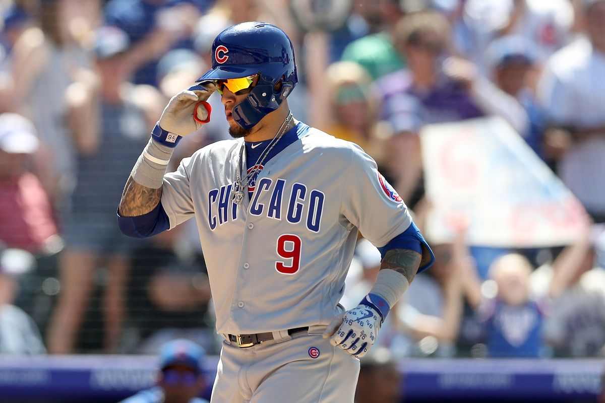 on sale 8cb7f 0d558 Rocky Mountain Heat: Cubs beat Rockies 10-1 to avoid sweep ...