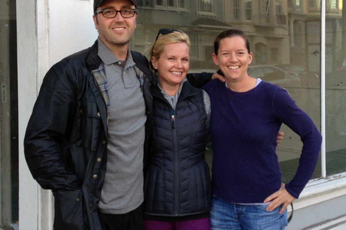 From left: Kohn, Miller, and Bacon.
