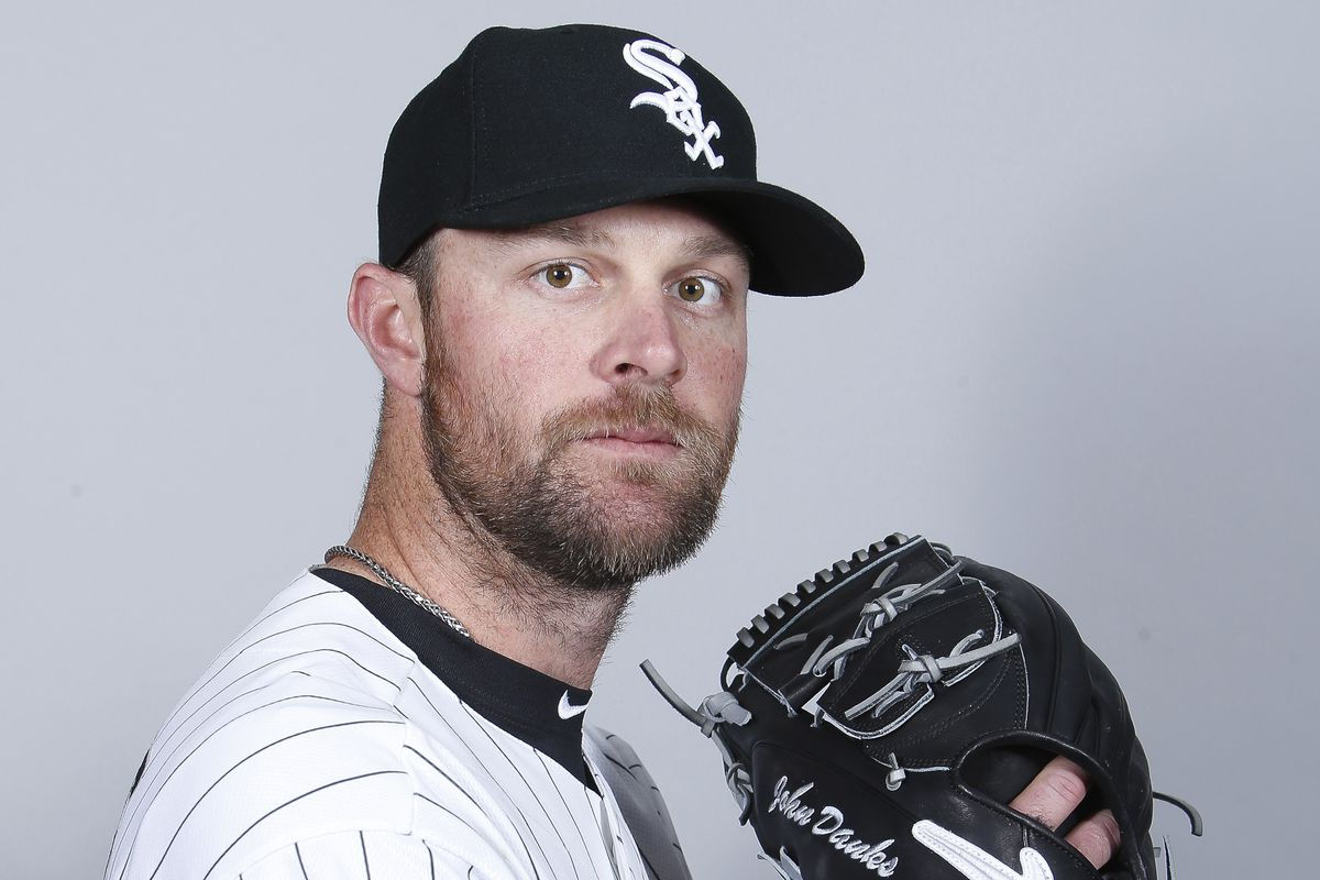 This is John Danks. Get it together, USA Today.