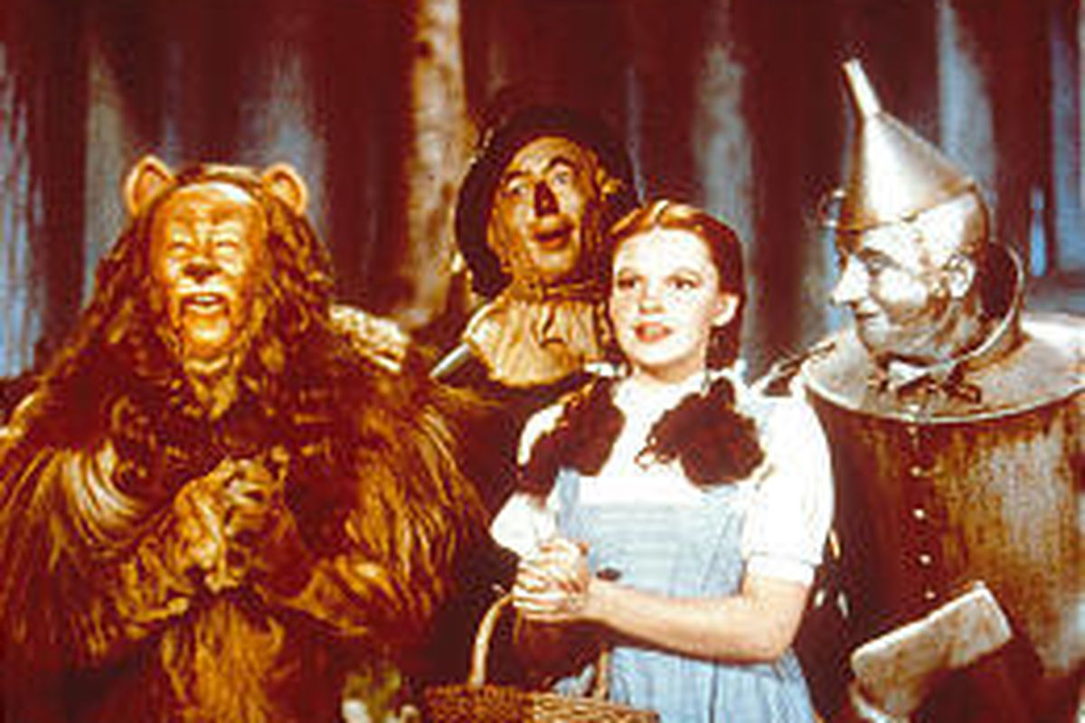 """A DVD collection combines an enhanced version of """"The Wizard of Oz"""" with four collectable silent versions."""