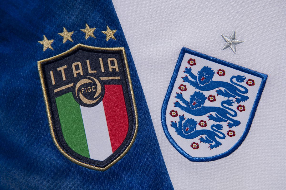 The Italy and England Badges