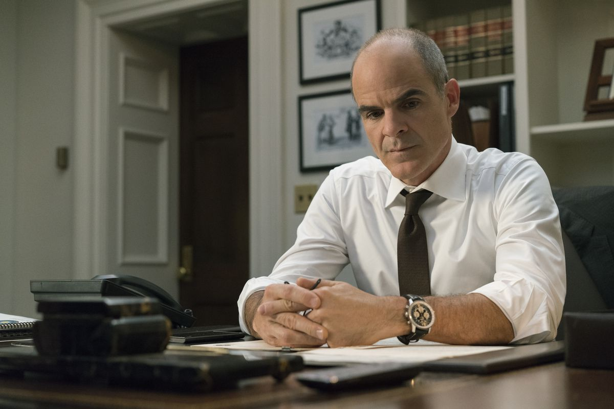 Michael Kelly as Doug Stamper in the 5th season of House of Cards on Netflix.