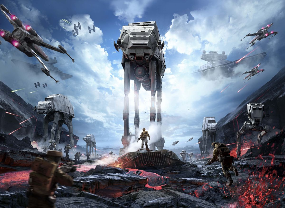 Star Wars Battlefront key art no text