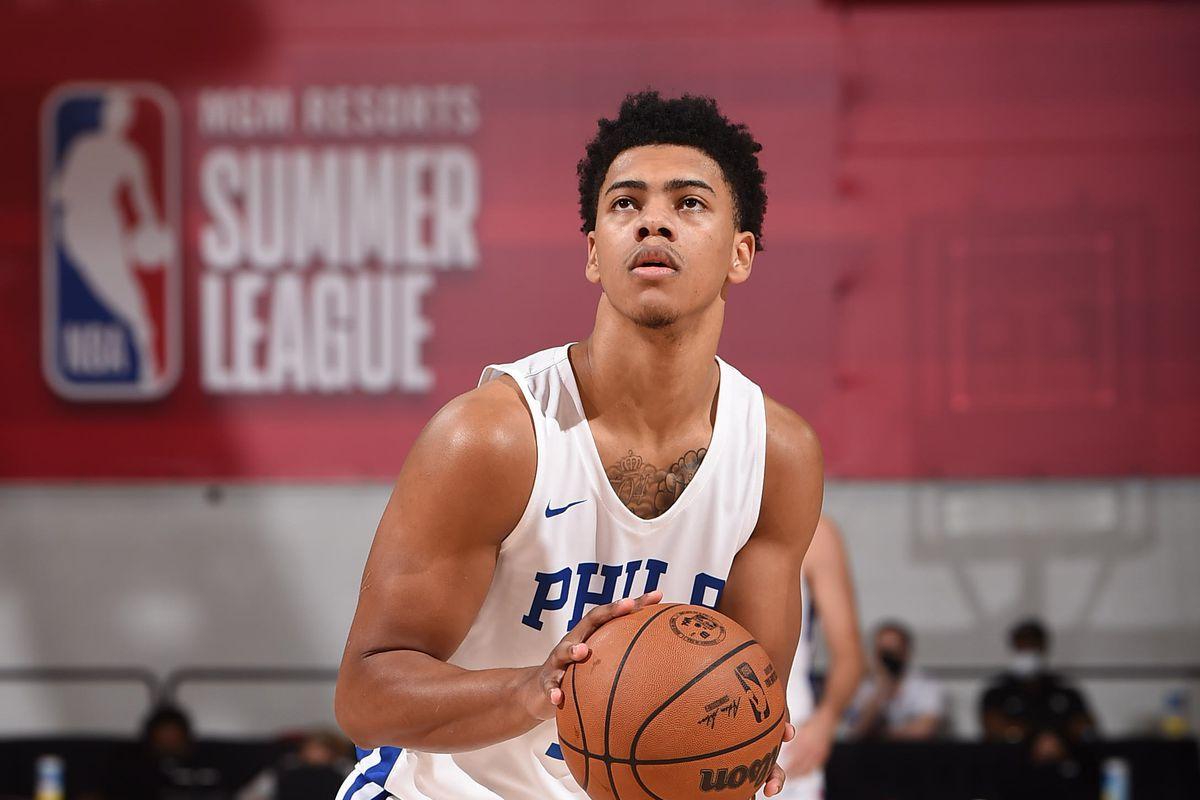 2021 Las Vegas Summer League - Utah Jazz v Philadelphia 76ers