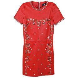 Isabel Marant red lambskin leather dress $1,250 (size XS)