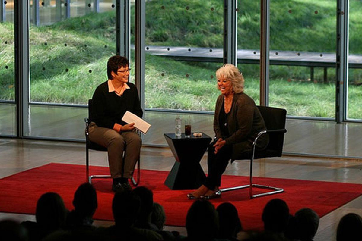 Kim Severson and Paula Deen