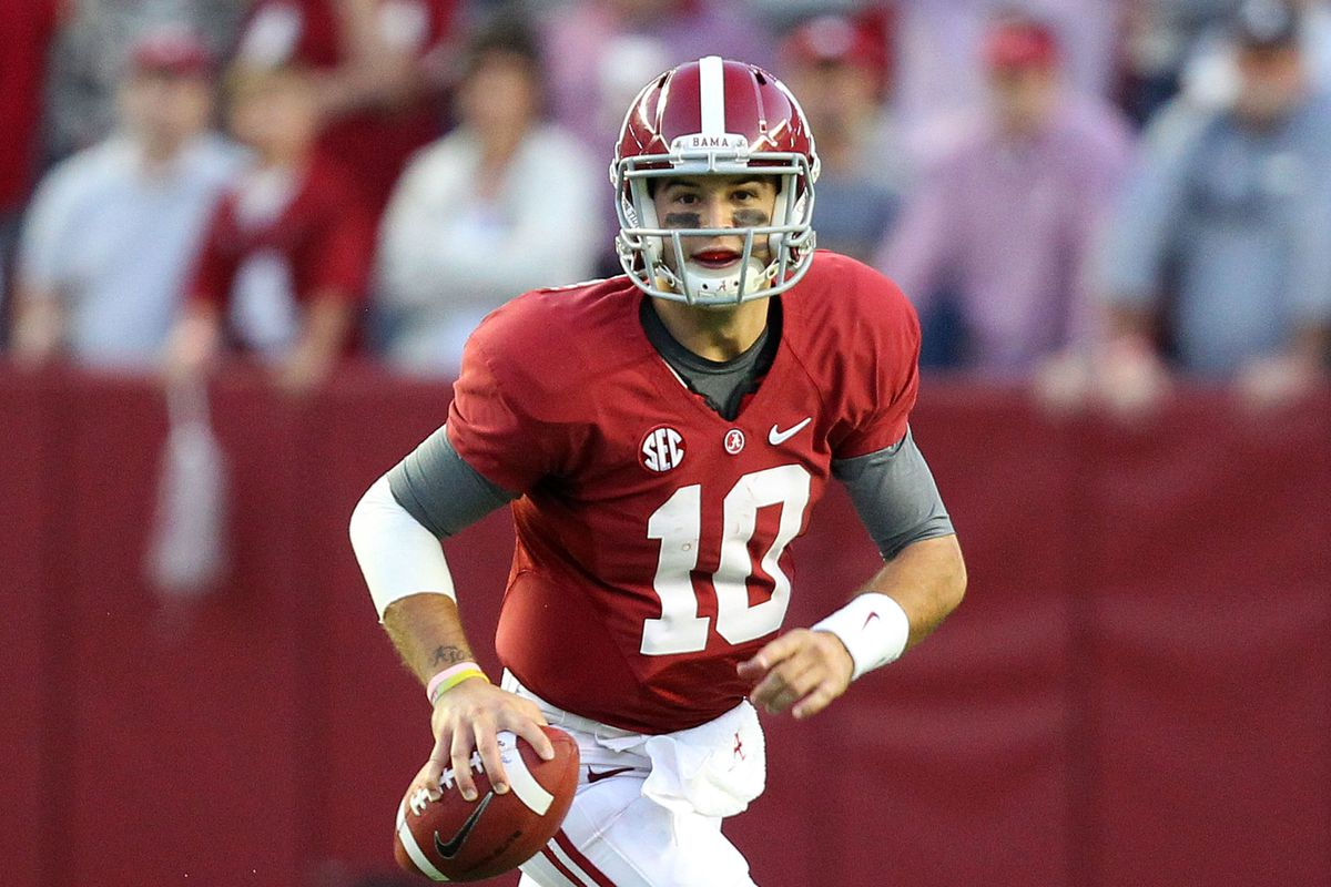AJ McCarron will look to make it two in a row for the Tide