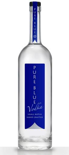 Pure Blue Vodka 2
