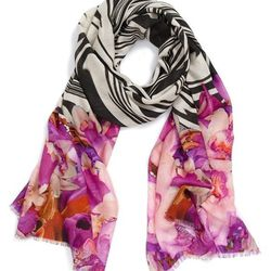 """<span class=""""credit""""><em>Nordstrom Waved Orchid Scarf, <a href=""""http://shop.nordstrom.com/s/nordstrom-waved-orchid-scarf/3508088?origin=keywordsearch-personalizedsort&contextualcategoryid=2375500&fashionColor=Orchid&resultback=245&cm_sp=personalizedsort-_"""