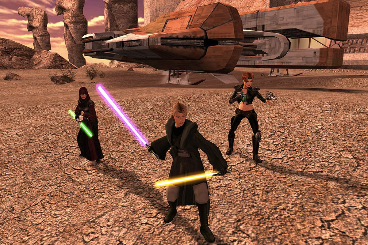 Star Wars: Knights of the Old Republic 2 just got a huge