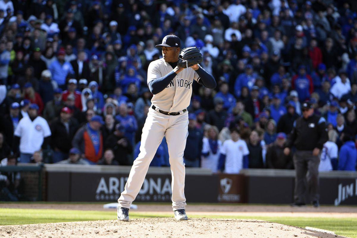 MLB: New York Yankees at Chicago Cubs