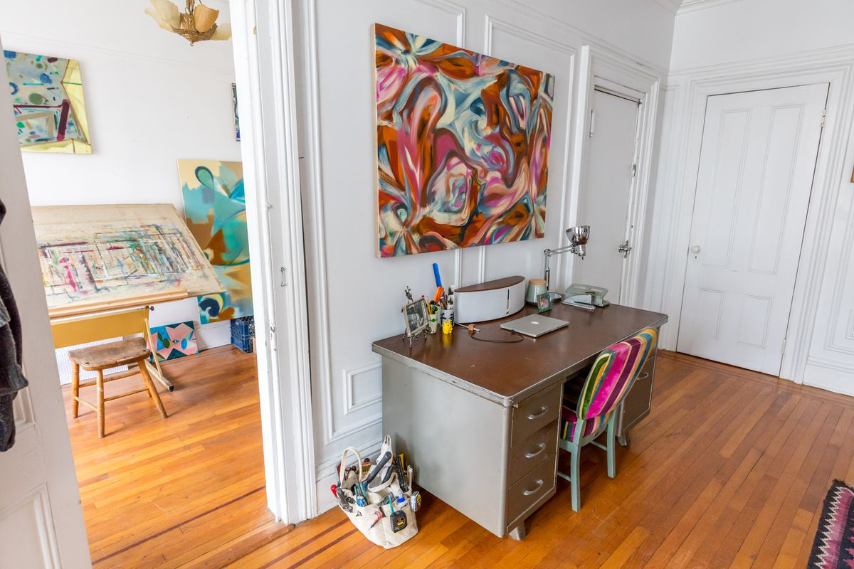 Midcentury Modern And 19th Century Charm Collide In A Greenpoint