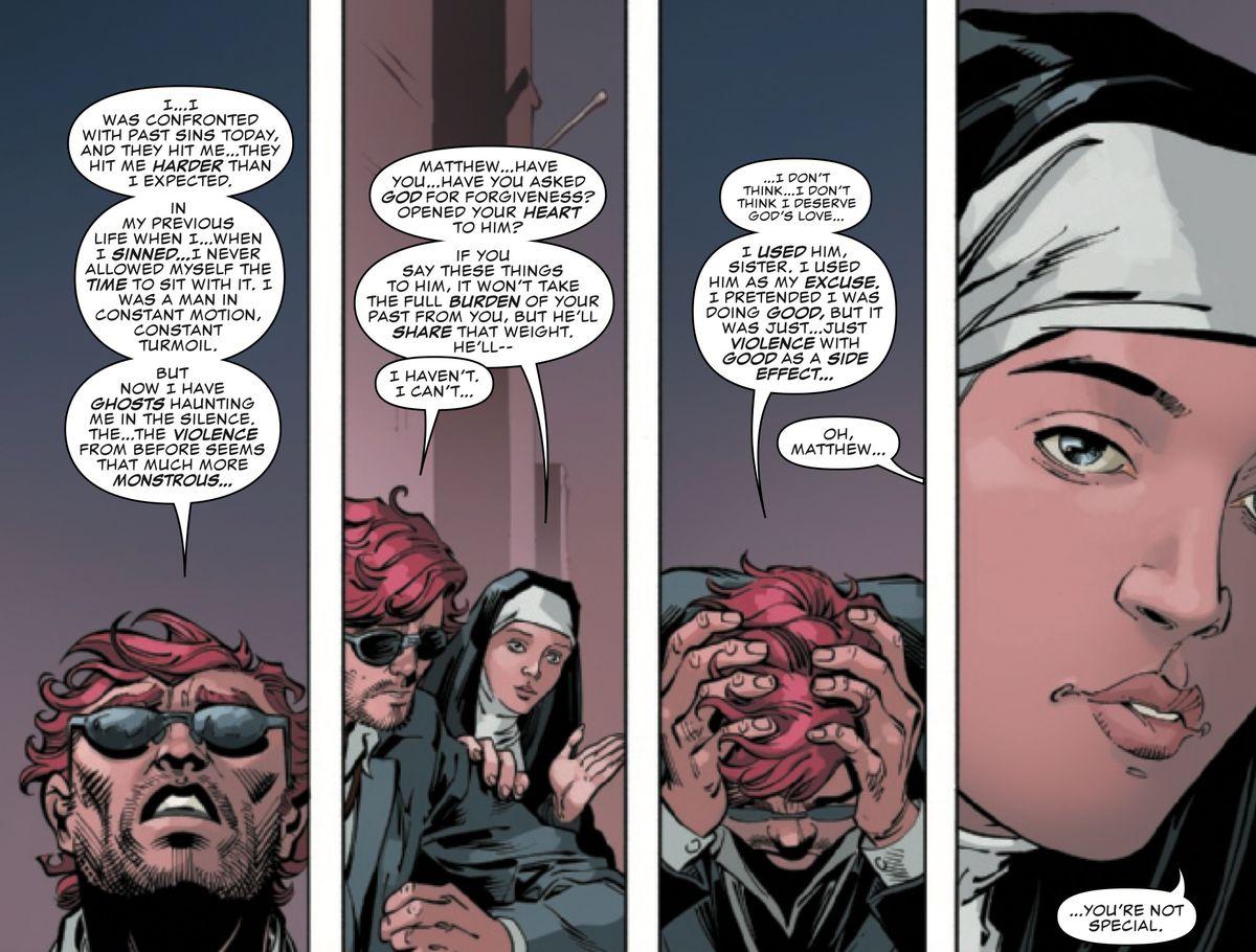 Matt Murdock in Daredevil #7, Marvel Comics (2019).