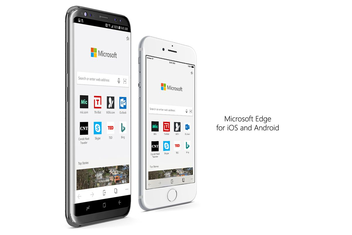 Surprise! Microsoft Edge is coming to Android and iOS