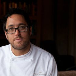 """<a href=""""http://eater.com/archives/2012/02/27/christopher-kostow-interview-february-2012.php"""">Eater Interviews Christopher Kostow, Part One</a> and <a href=""""http://eater.com/archives/2012/02/28/christopher-kostow-on-fears-and-jerks.php"""">Part Two</a>"""