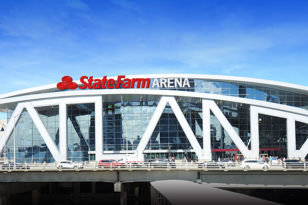 after 20 years downtown atlanta�s philips arena is being