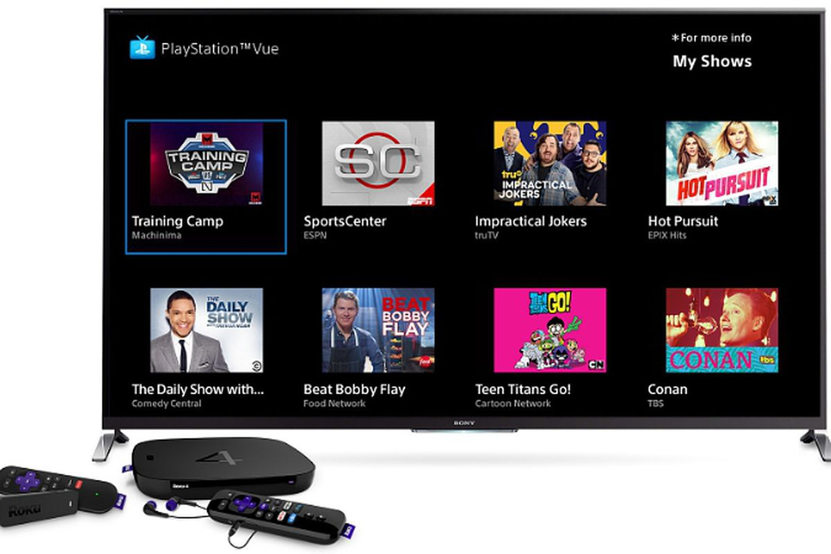 PlayStation Vue is now available on Roku - The Verge