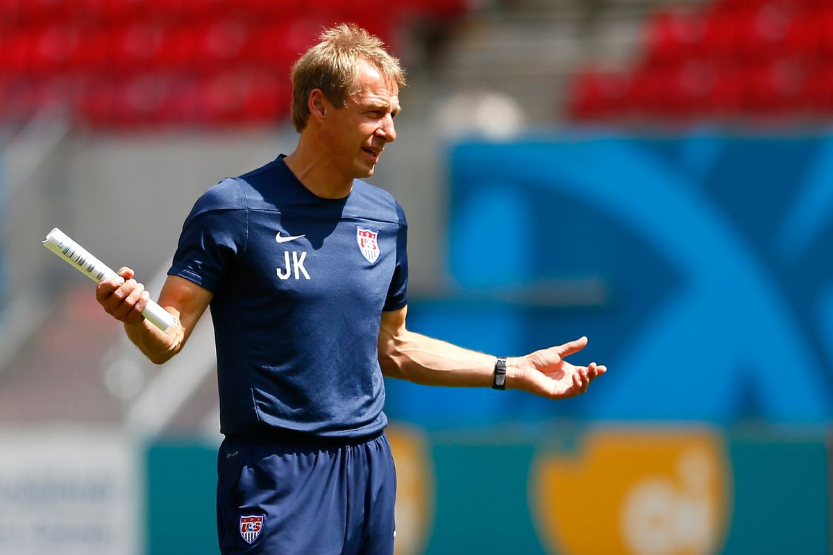 The US team's head coach is German, which is confusing.
