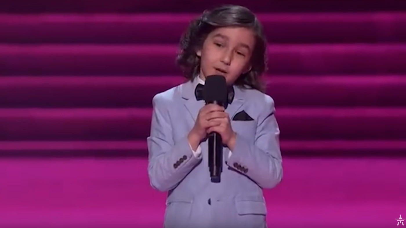 A 7-Year-Old Comic Roasted The Hell Out Of The 'America's Got Talent' Judges