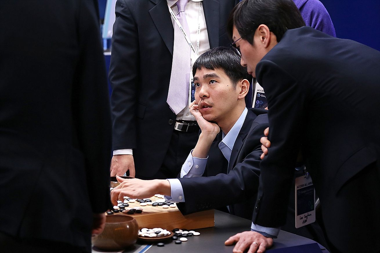 Professional 'Go' Player Lee Se-dol Plays Google's AlphaGo - Last Day