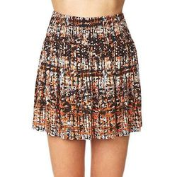 """<b>Forever 21</b> Day Dreamer Abstract Mini Skirt, <a href=""""http://www.forever21.com/Product/Product.aspx?BR=f21&Category=bottom_skirt&ProductID=2000126738&VariantID="""">$8.80</a>"""