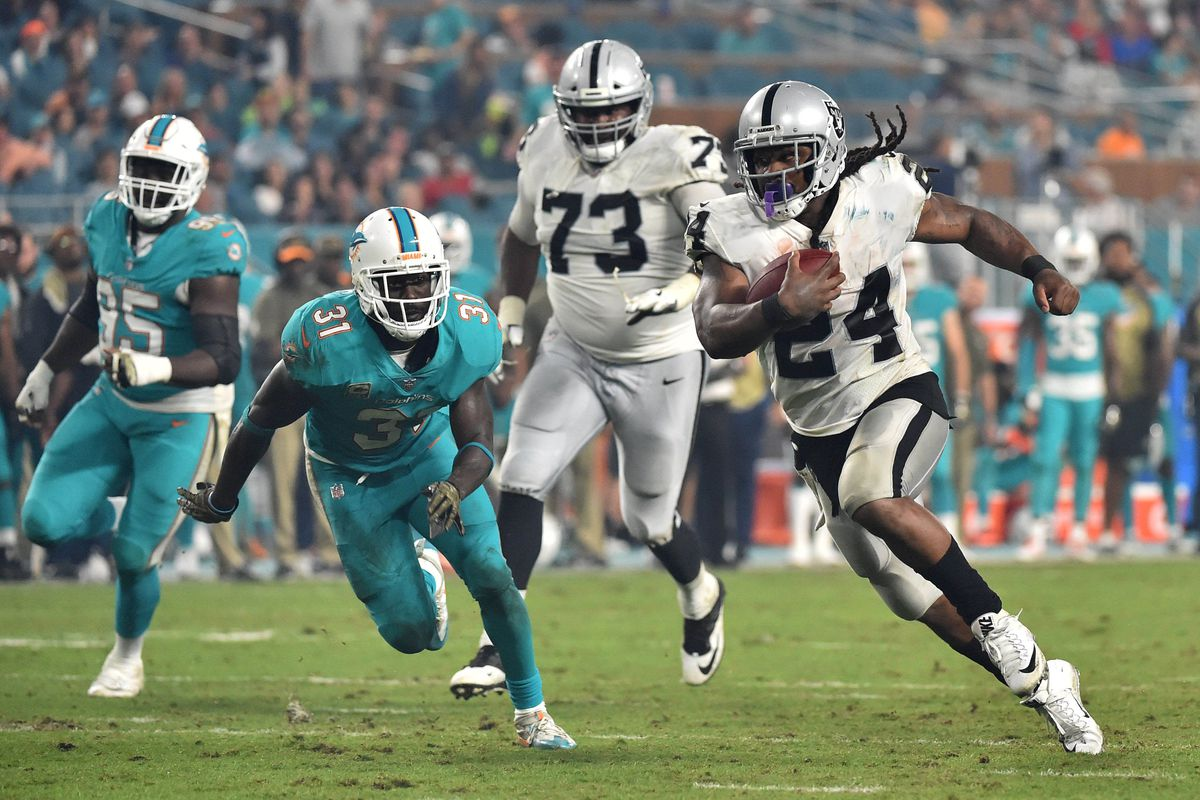 raiders 2018 opponent breakdown miami dolphins silver and black pride