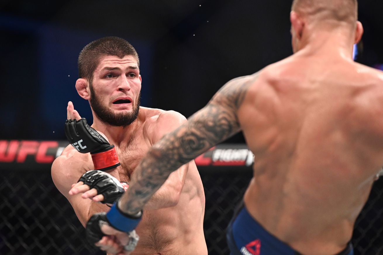 UFC 242- Nurmagomedov vs Poirier