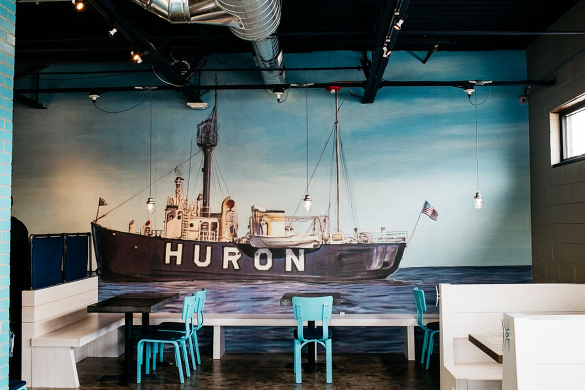 Opening alert detroits new fish chips joint huron room swings huron room michelle and chris gerard malvernweather Image collections