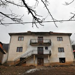 """A general view of the house where naturalized American citizen Sami Osmakac, 25, was born, in the Osmankaj family compound in the village of Lubizde, Kosovo Tuesday, Jan 10, 2012. A Kosovo-born man was charged with plotting to attack Tampa-area nightclubs and a sheriff's office with bombs and an assault rifle to avenge wrongs done to Muslims, federal authorities said Monday. According to a federal complaint, Osmakac recorded an eight-minute video shortly before his arrest explaining why he wanted to bring terror to his """"victims' hearts"""" in the Tampa Bay area. (AP Photo/Visar Kryeziu)"""