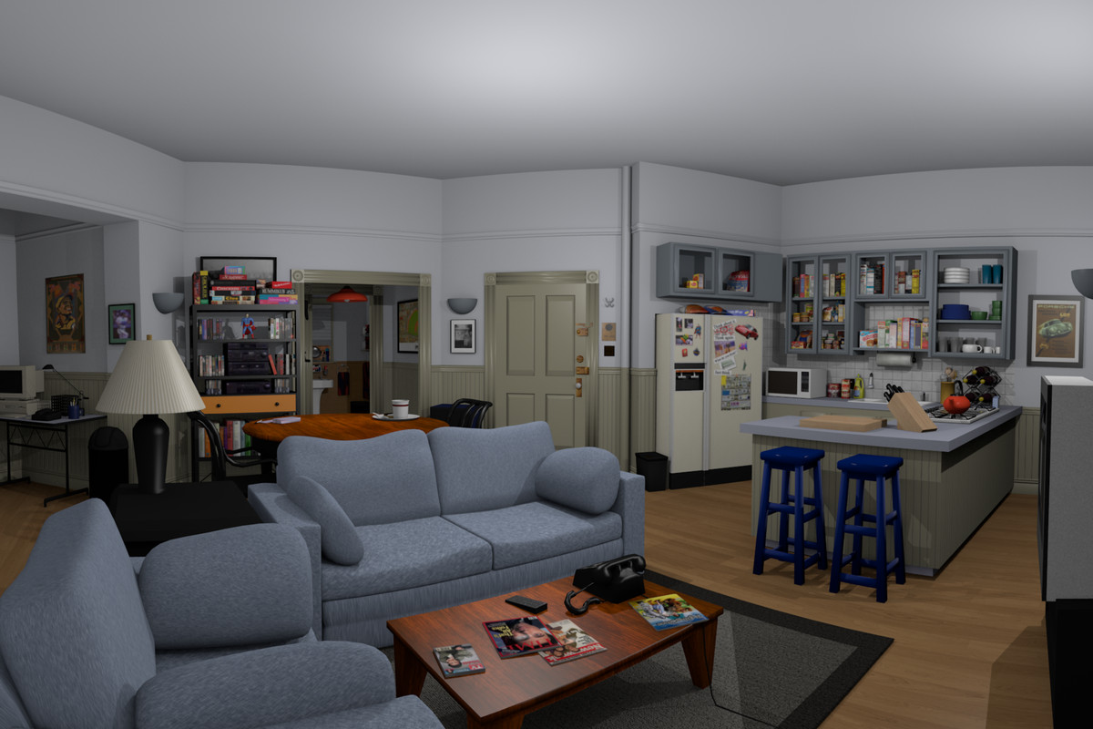 Seinfeld Might Not Be On Tv Anymore But It Is Oculus Rift Jerry S Place Vr Lets You Use The Virtual Reality Headset To Explore Iconic Apartment