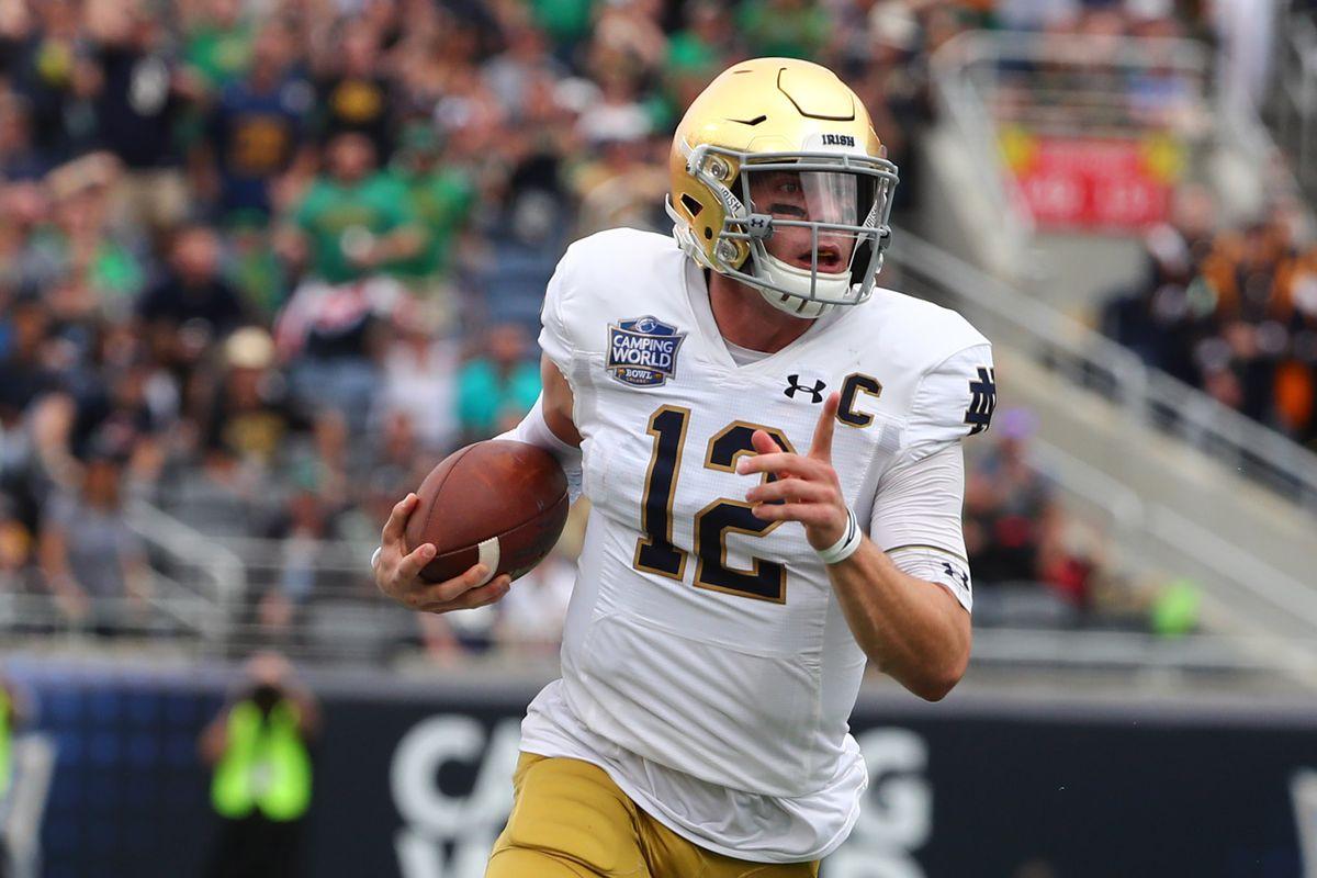 NCAA Football: Camping World Bowl-Notre Dame vs Iowa State
