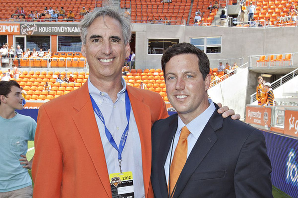Oliver Luck, Chris Canetti, You.  What do these three have in common?  All were GMs of the Houston Dynamo.