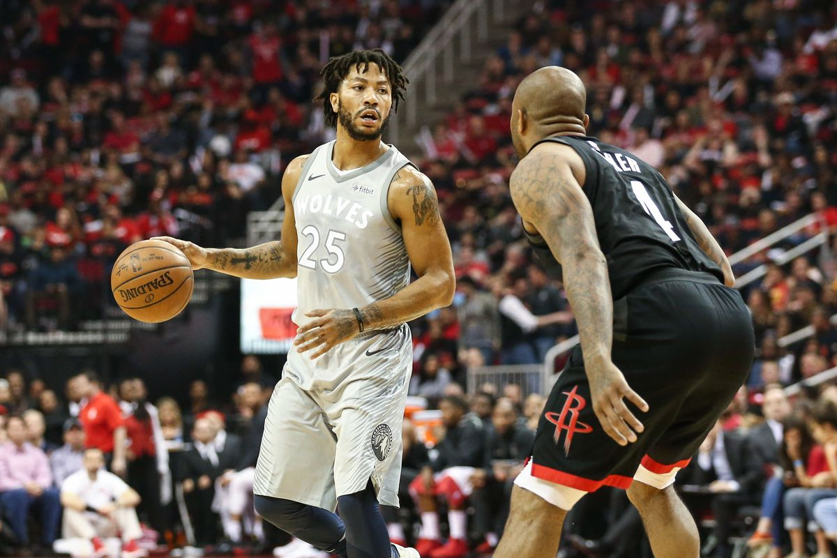 282fb05fa50a The ghost of Derrick Rose is somehow helping the Timberwolves survive