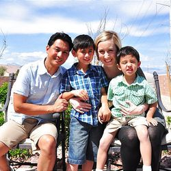 Lori Garcia and her husband resolve conflict positively in front of their two boys, ages 4 and 9, in order to give them a more realistic and healthy view of marriage.